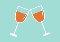 cheers-glasses-flat-vector